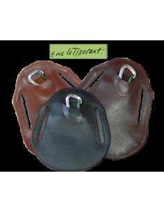 Bavette de sangle Eric Le Tixerant cuir large