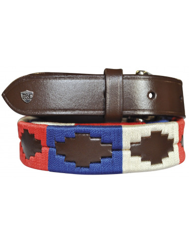 Ceinture Flags&Cup Chukka rouge