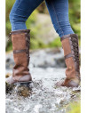 Bottes Dubarry Glanmire walnut