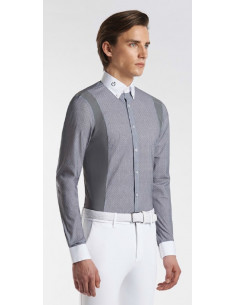 Chemise Cavalleria Toscana Cotton/Tech Competition