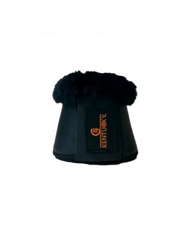 Cloches Kentucky cuir mouton noir/ mouton noir