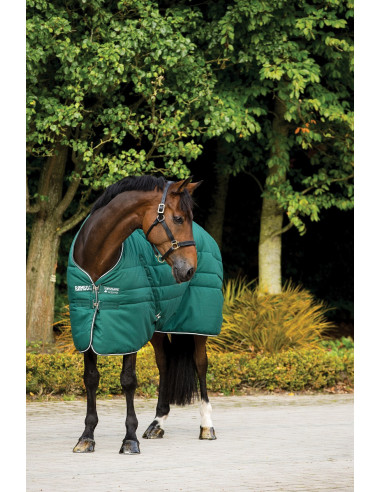 Couverture Horseware Rambo Stable Rug choco