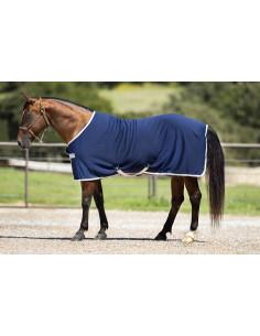 chemise horseware amigo jersey cooler marine/argent
