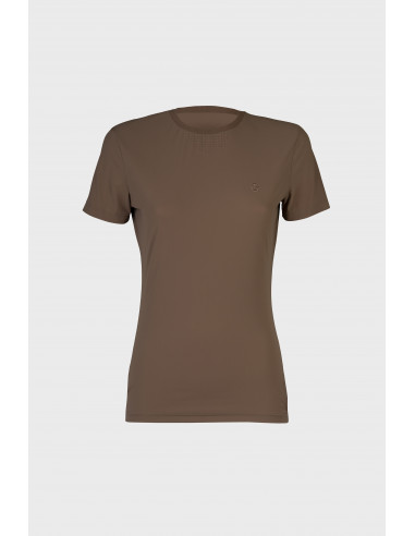 T-Shirt Cavalleria Toscana Perforated with Side Zip
