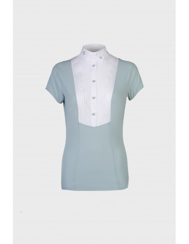 Chemise Cavalleria Toscana Techn Shirt W/ Bib S/S
