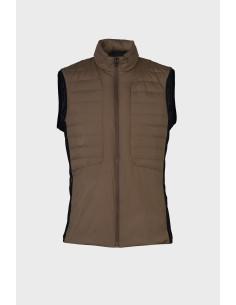 Doudoune Cavalleria Toscana Lightweight Down Puffer Vest In Nylon / Jersey