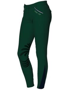 Pantalon Flags & Cup Cayenne Femme vert forêt/marine