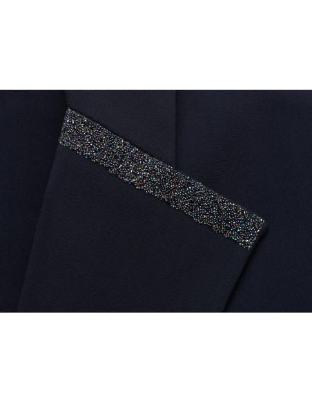Veste Samshield Victorine Crystal Fabric marine