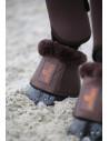 Cloches Kentucky cuir mouton marron/ mouton marron