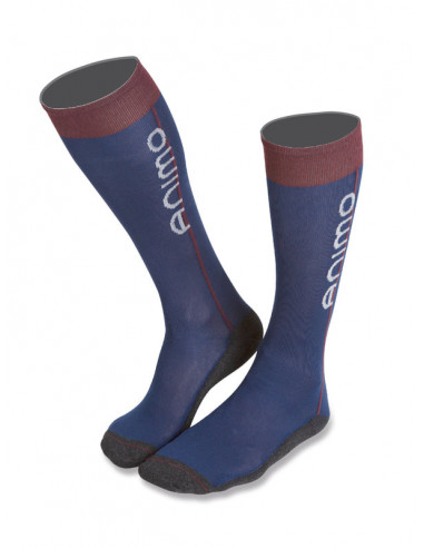 Chaussettes Animo Tipic marine-bordeaux