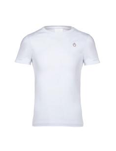 Tee-Shirt Cavalleria Toscana Peekaboo blanc