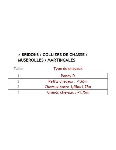 Bridon CWD anatomique muserolle française
