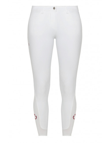 Pantalon Cavalleria Toscana New Grip System blanc