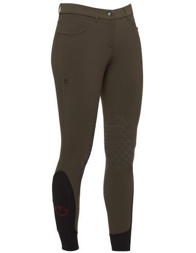 Pantalon Cavalleria Toscana New Grip System kaki foncé