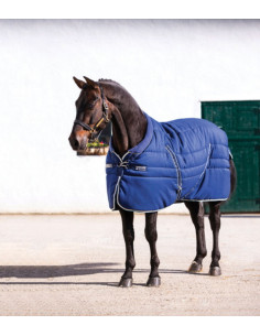 Couverture Horseware Rambo Cosy Stable 400grs marine