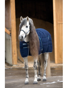 Couverture Horseware Rambo Stable Rug 200grs marine