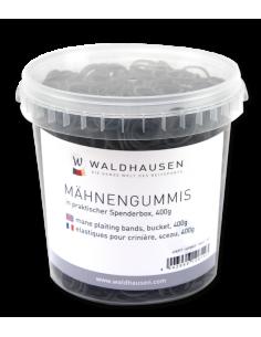 Elastiques Pour Crinière Waldhausen 400gr Noir