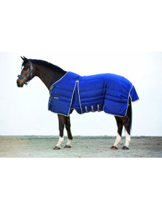 Couverture Horseware Rambo Optimo Stable Rug marine