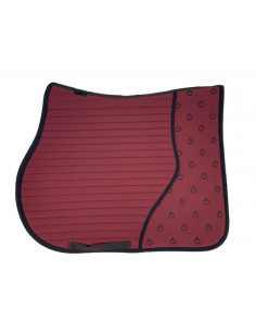 Tapis Cavalleria Toscana Quilted Insert Jumping bordeaux