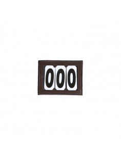 Porte Numéro Kentucky En Velcro