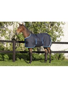 Couverture Horseware Amigo Foal marine/bleu electrique