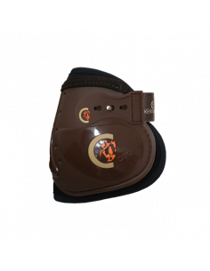 Protège-boulets Kentucky Moonboots Elastic marron