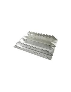 Etrille Aluminium Rectangulaire Hippotonic