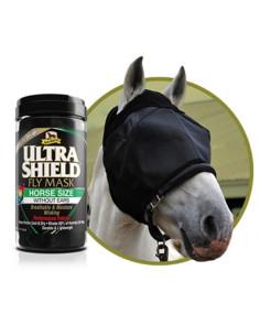 Masque anti-mouches Absorbine Ultra Shield Sans Oreille