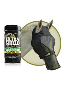 Masque anti-mouches Absorbine Ultra Shield Avec Protection De Nez Sans Oreille