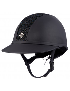 Casque Charles Owen SP8 Plus Leather Look Sparkly