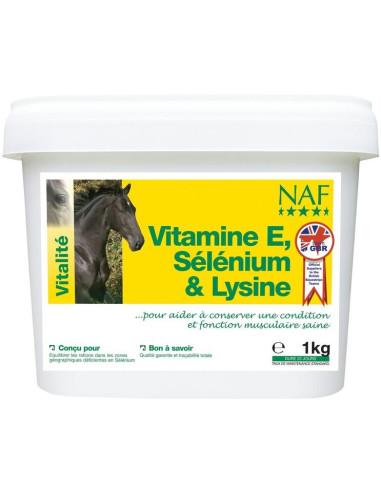 NAF Vitamine E, Sélénium & Lysine