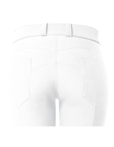 Pantalon Flags&Cup Push Up blanc